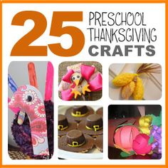 Here's 25 fun (and super cute) Preschool Thanksgiving Crafts my mom helped me pull together! Check out all the ways to make a Thanksgiving turkey! :-) #Thanksgiving #preschoolThanksgivingcrafts #DIY #crafts