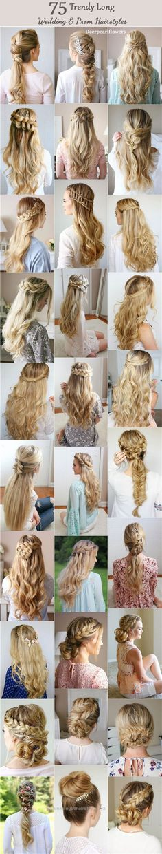 Look Over This Long Wedding & Prom Hairstyles from Missysueblog (  missysue.com  ) /  www.deerpearlflow…   The post  Long Wedding & Prom Hairstyles from Missysueblog ( missysue.com ) / www.deerpear…   ..