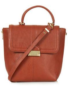 Pushlock Crossbody Bag - Bags & Wallets  - Bags & Accessories