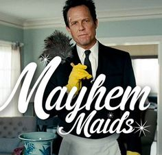 Allstate continues its Protected from Mayhem ad campaign with The Worlds Worst Cleaning Lady. Another ad starring Mayhem demonstrating scenarios...