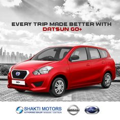 Every trip made better with #DatsunGo+ #NissanCars #Cars #CarsInMumbai