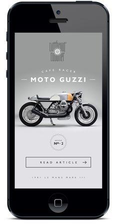 Mobile publication User interface