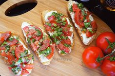 Kitchen Stories: Crostini with Whipped Feta and Tomatoes