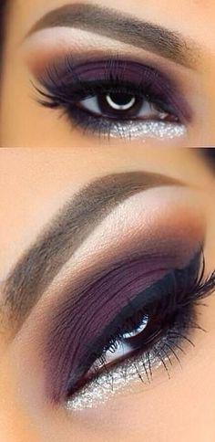 Dramatic Smokey Eye, Dramatic Eye Makeup, Eye Makeup Steps, Natural Eye Makeup, Smoky Eye, Purple Smokey Eye, Smokey Eyeshadow, Smokey Eye Makeup, Makeup For Brown Eyes