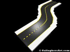 Custom Modular LEGO SNOT Roads version SP04