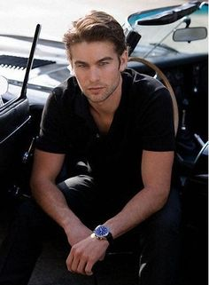 Chase Crawford aka Nate Archibald (for his relaxed style)