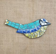 Mosaic Blue Tit