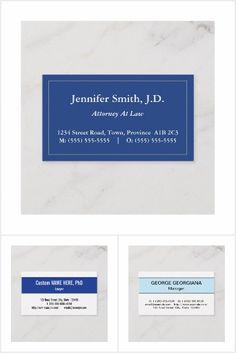 Business cards featuring the color blue. Business Card Design, Business Cards, Collections, Blue, Lipsense Business Cards, Name Cards, Visit Cards