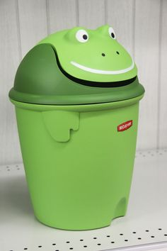 Frog Garbage Can (at Meijer stores)