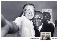 Selfies for The Cape Times - Lowe Cape Town. This won a Silver at Cannes Lions Famous Self Portraits, Famous Photos, Iconic Photos, Selfies, Childhood Images, Desmond Tutu, Ad Of The World, Great Ads, Like Instagram