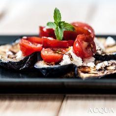 #cena al #pub con #gordon #ramsay : #melanzane con #feta e #pomodorini. #basilico #gordonramsay #food