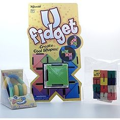 Set of 3 Assorted Fidget Toys -- Details can be found by clicking on the image. (This is an affiliate link and I receive a commission for the sales) #LearningEducation