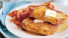 Transform bread, eggs, and milk into an indulgent brunch dish with French toast recipes we love. Find your new favorite French toast recipe here. Delicious Breakfast Recipes, Brunch Recipes, Homemade Breakfast, Yummy Food, Fun Food, Appetizer Recipes, Yummy Recipes, Healthy Food, Healthy Eating