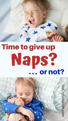 Giving up naps is a major transition for kids (and their parents alike)! Here's how to know when it's really time to make the change. . . #elizabethpantley #nocrysolution #nocrysleepsolution #nocrynapsolution #gentlesleep #toddlerparentingtips #preschoolerparentingtips #attachmentparenting #toddlersleep #preschoolersleep #3yearoldsleep #4yearoldsleep #childsleep #healthysleep Kids Sleep, Baby Sleep, Sleep Help, Gentle Parenting, Parenting Advice, Toddler Preschool, Toddler Activities, Emotional Child, Advice For New Moms
