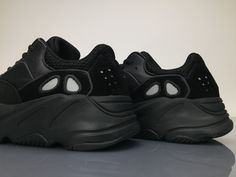 9c17a6ae772 Adidas Yeezy Wave Runner 700 B75576 Triple Black Real Boost for Sale7  Triple Black