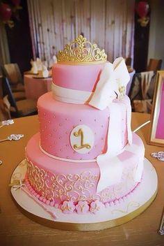1st Birthday cake for princess