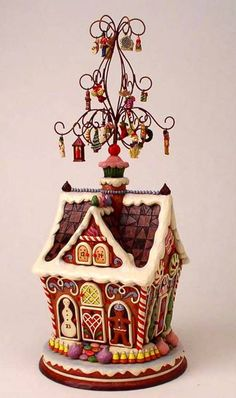 Jim Shore Gingerbread House 2010