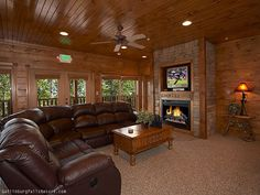 Stairway to Heaven is a premier three bedroom log cabin offering location and privacy, as well as all the amenities for the perfect vacation. This beautiful log home is located 1.4 miles from downtown Gatlinburg and minutes from the entrance to the Smoky Mountain National Park and just 1 mile from Ober Gatlinburg. http://www.gatlinburg-cabins-now.com/3-bedroom-cabins/gatlinburg-cabins-presents-stairway-to-heaven/