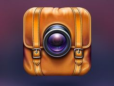 Camera App Icon for Travelers #icon #iOS #inspiration