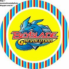 Montando minha festa: Beyblade G Revolution
