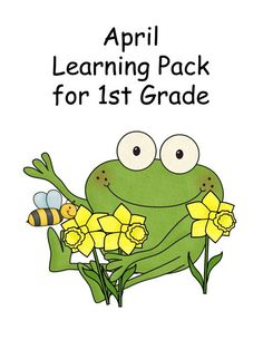 FlipSnack | April - Learning Pack for 1st Grade by CHSH-Teach