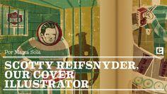 Scotty Reifsnyder, ouer cover illustrator @Julitaenjuliana