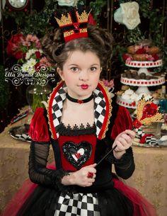 Magic Box Mujer Reina de Corazones Medias Arlequ/ín