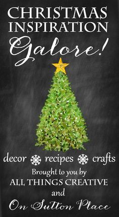Inspiration galore! Over 100 Christmas Craft, Recipe and Decor Ideas | Find everything you need to have the best Christmas ever!