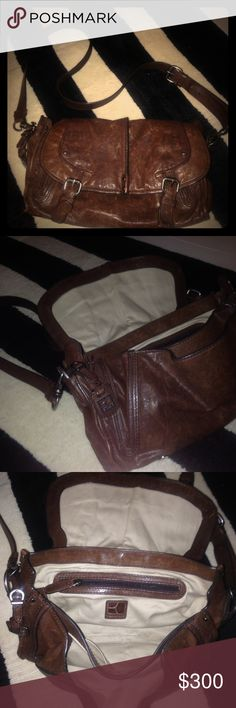 Boss Orange vintage messenger Vintage Boss Orange messenger bag beautiful brown leather BOSS ORANGE Bags Crossbody Bags