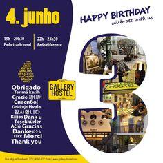 Happy Birthday Gallery Hostel!
