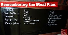 Remembering the Meal Plan: Planning meals isn't the hard part for me -- it's remembering what I was planning so that I don't waste food. I finally found a solution!