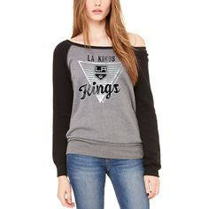 3f196e715c0a Show your Chicago Blackhawks pride every time you wear this Eighty  Something wide neck sweatshirt. Featuring Chicago Blackhawks graphics, this  Let Loose by ...