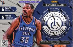 2012-13 Panini Totally Certified Basketball Cards Hobby Box - New!! $114.95
