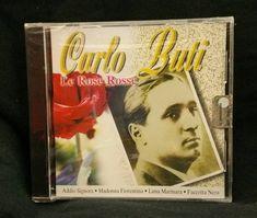 CD: Carlo Buti - Le Rose Rosse ⠀