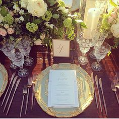 Place setting embellishments