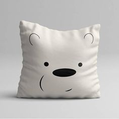 The pillow every We Bare Bears fan need RIGHT NOW. Are you a fan? One of your friends is, and its their birthday? Whatever the reason is, you know you need this.  You can get just the pillowcase or with a soft polyester insert.  This Ice Bear soft pillow is an excellent addition that gives