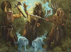 The Old Tribes of Ireland In Irish mythology the Fir Bolg were one of the races that inhabited the island of Ireland prior to the arrival of the Tuatha Dé Danann. The Old Tribes of Ireland Irish Mythical Creatures, Irish Mythology Creatures, Mythological Creatures, Gandalf, Yule, Vikings, Celtic Druids, Legends And Myths, Celtic Culture
