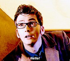 Totally addicted to all of these doctor who gifs...<< I could watch the 10th Doctor (David Tennant) all day...