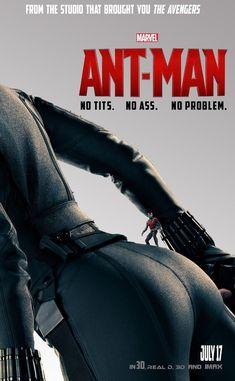 블랙 위도우가 등장한 '앤트맨'의 '엉큼한' 팬 아트 포스터 4장