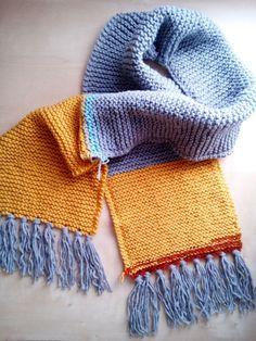 sciarpa lunga in lana con frange unisex uomo donna righe 07432680309a