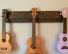 Wooden uke wall mount!