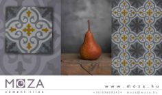 tile desig © MOZA cement tile manufactory foto © Agota Balogh Manufactory, Tiles, How To Plan, Pottery, Cement Tile, Flooring, Objects