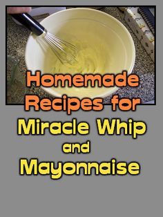 Miracle Whip was invented as sweeter alternative to mayo, in the early 1930's. They originally planned to call it mayonnaise, but the FDA would not let them because it contained ingredients that t...