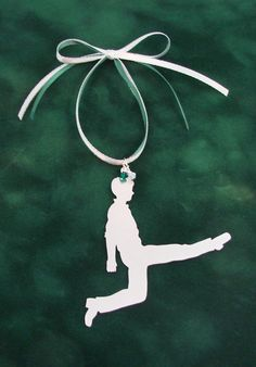 Irish Dancer Boy Christmas Tree Ornament by RoxysCreations on Etsy
