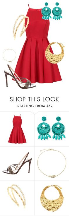 """""""Untitled #1148"""" by ashlozuk333 ❤ liked on Polyvore featuring Chi Chi, Kenneth Jay Lane, Diane Von Furstenberg, Bling Jewelry, Miu Miu and Ben-Amun"""