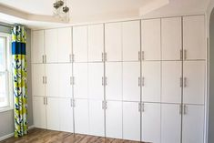 These Ikea Ivar hacks will get your creative juices flowing. Transform the basic unfinished pine Ivar cabinet from Ikea into amazing custom furniture for your home with these creative ideas to makeover an Ikea Ivar cabinet. Ikea Storage, Craft Room Storage, Storage Hacks, Small Storage, Storage Ideas, Craft Rooms, Paint Storage, Book Storage, Ikea Cupboards