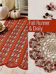 Crochet - Fall Runner & Doily - #AC01261