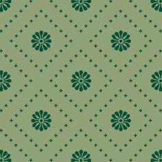 Small Flowers - Green mixed - Full Coverage. Price 6,5 € Små blomster - Grøn mønstermix - Heldækkende folie. Pris 45 dkk.