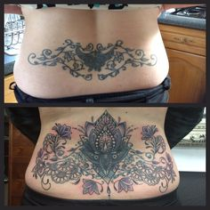 Cover up and re-work of and old black butterfly and vine work.   #devilsown #devilsowntattoos #leicester #leicesterink #leicestertattoo #tattoo #coverup #coveruptattoo #rework #reworktattoo #patternwork #patternworktattoo #colour #colourtattoo #blackandgrey #blackandgreytattoo