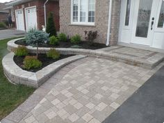Image result for armour stone garden bed